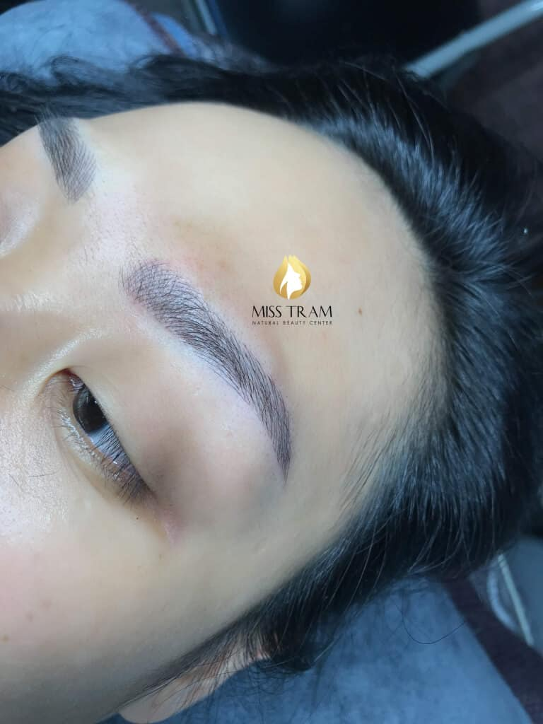 Before and After Sculpting Eyebrow Scraping Create Beautiful Standard Eyebrow 5