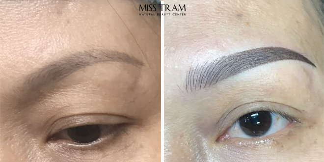 Before And After Sculpting Eyebrows Queen Corrects Pale Eyebrows 1