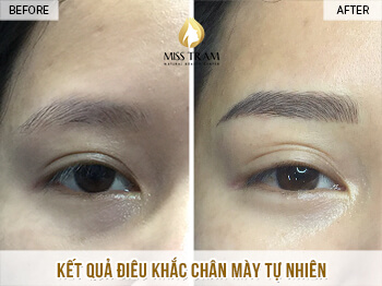 Before and After Sculpture Natural Eyebrows, Beautiful For Women 1