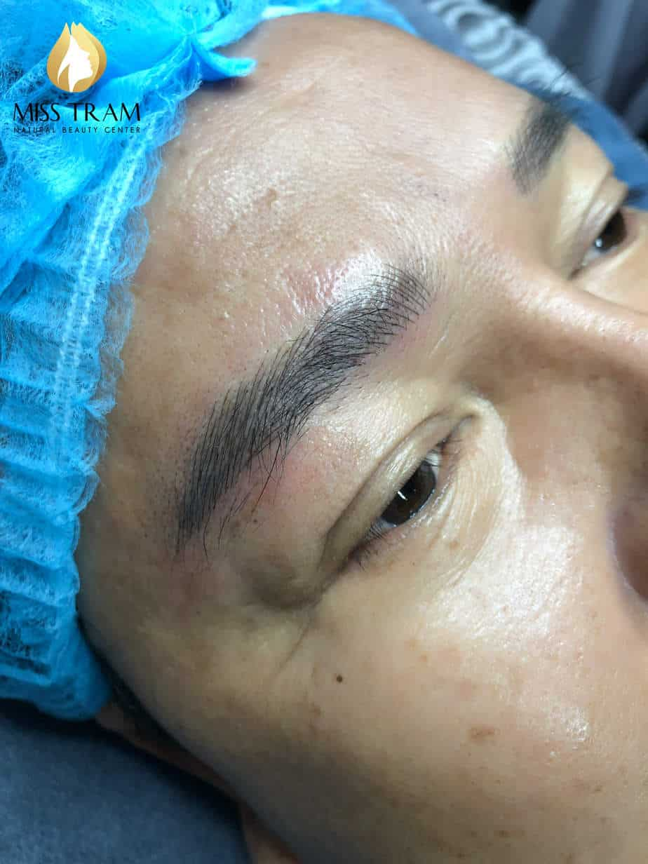 Before And After Sculpture Male Eyebrows Using Fine Ink 5