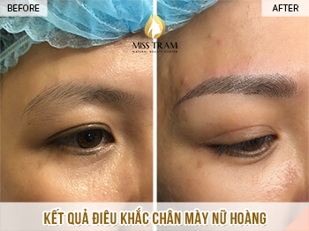 Before and After Results Sculpting Eyebrow Beauty Queen For Women 1