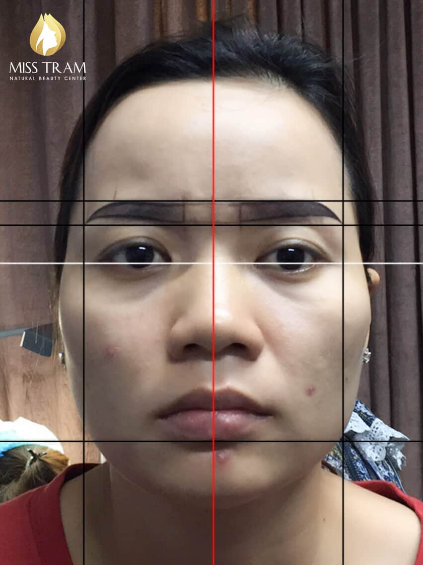 Before And After Sculpting Eyebrows Correcting Uneven Eyebrows 3