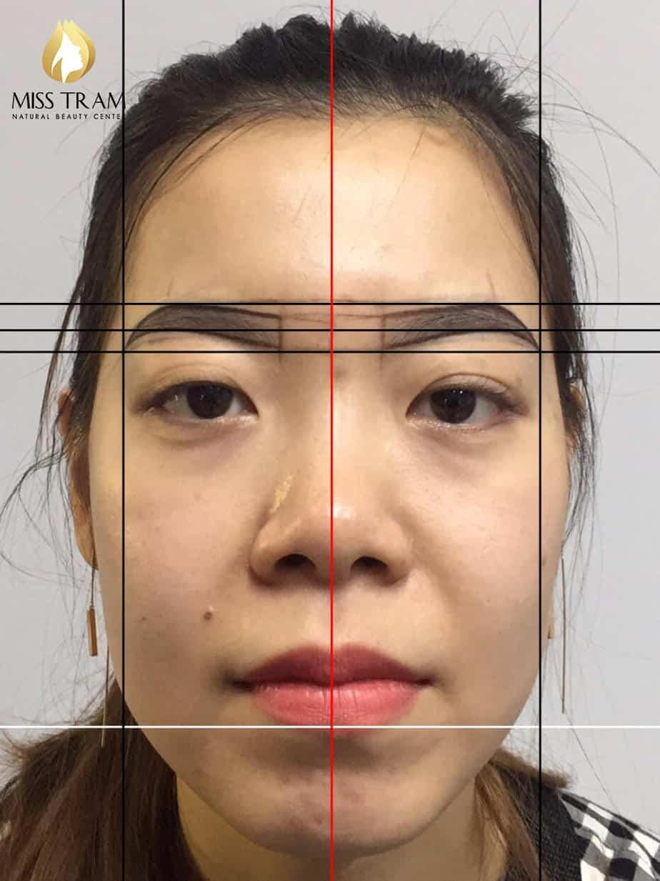 Before And After Processing And Sculpting Old Eyebrows 3