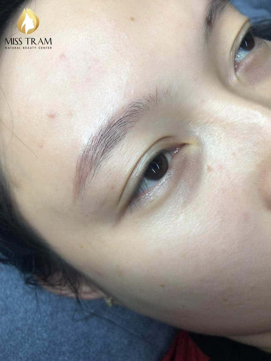 Before And After Treating And Sculpting Eyebrows Queen 3