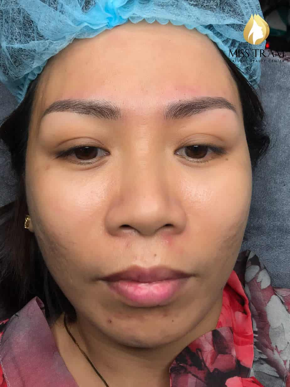 Before and After Results Sculpting Beauty Queen Brow For Women 3