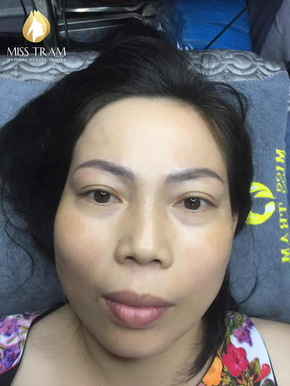 Before And After Sculpting Eyebrows Correcting Uneven Eyebrows 5