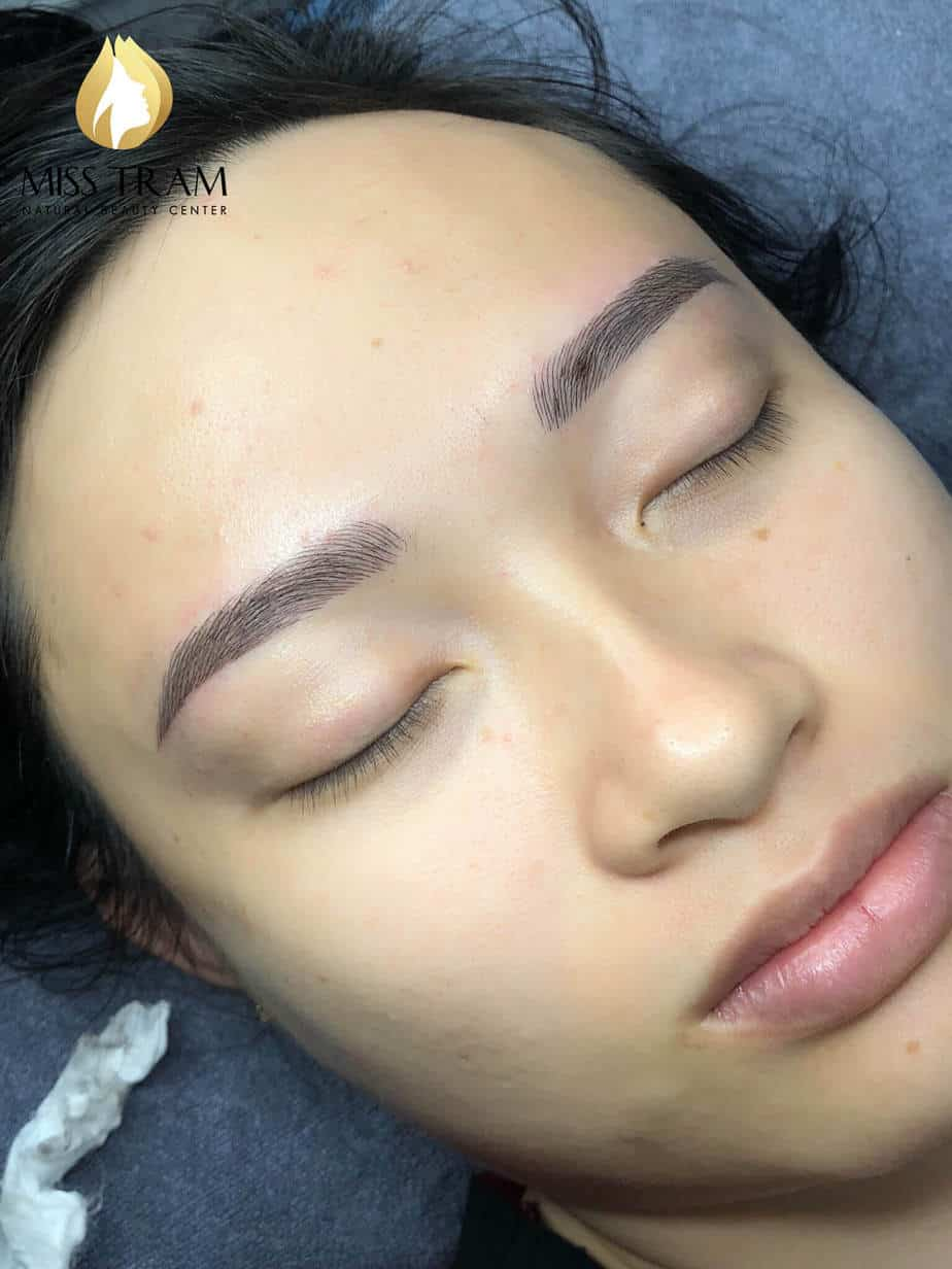 Before And After Handling And Sculpting Her Eyebrows Queen 5