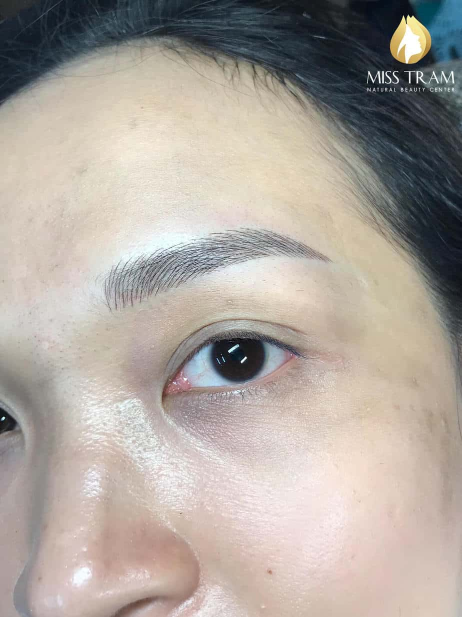 Before And After Sculpting Eyebrows Create a Standard, Beautiful, Natural Eyebrow 5