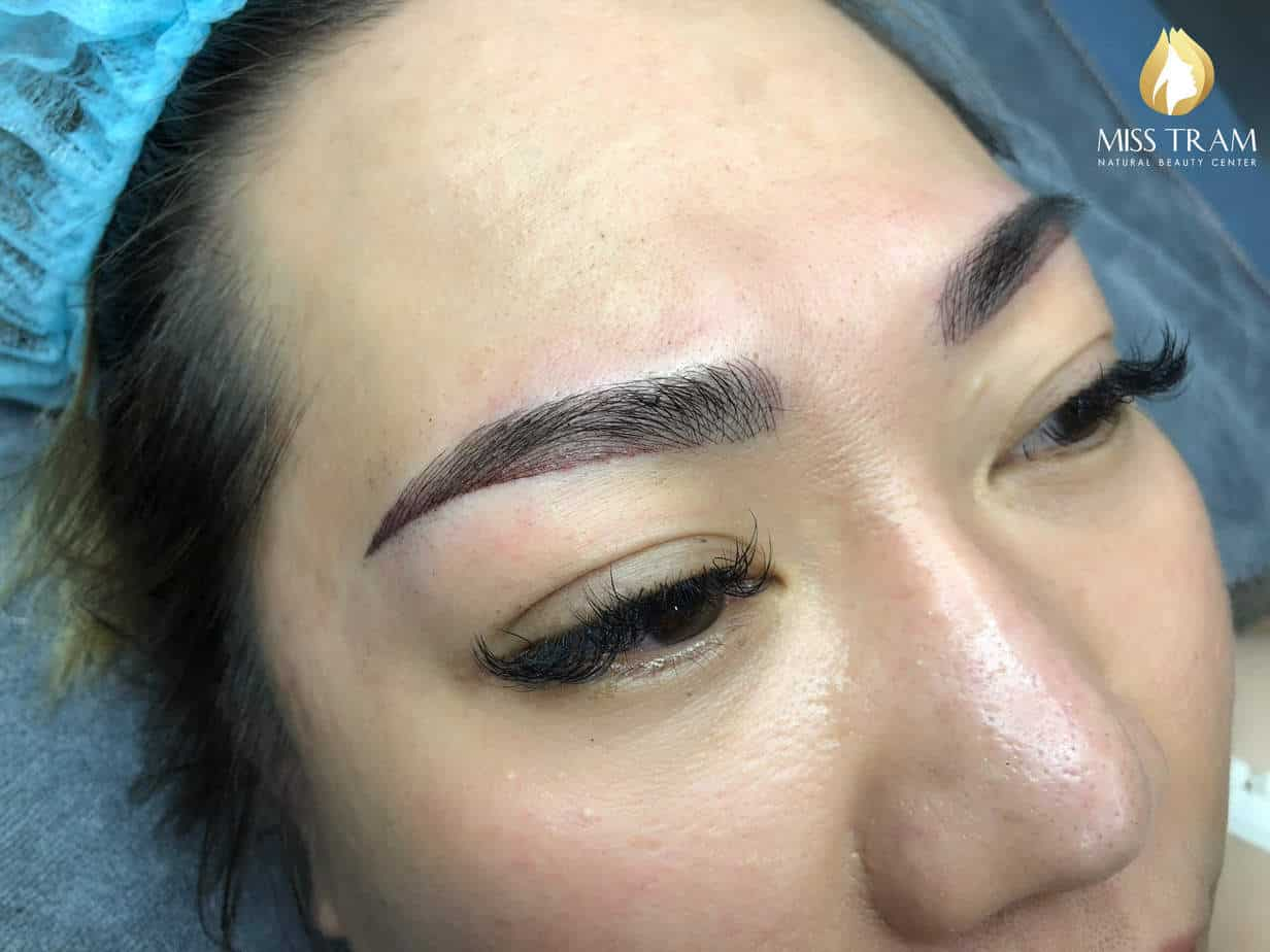 Before And After Sculpting Scraps Combine Spray Ombre Tail Eyebrow 6