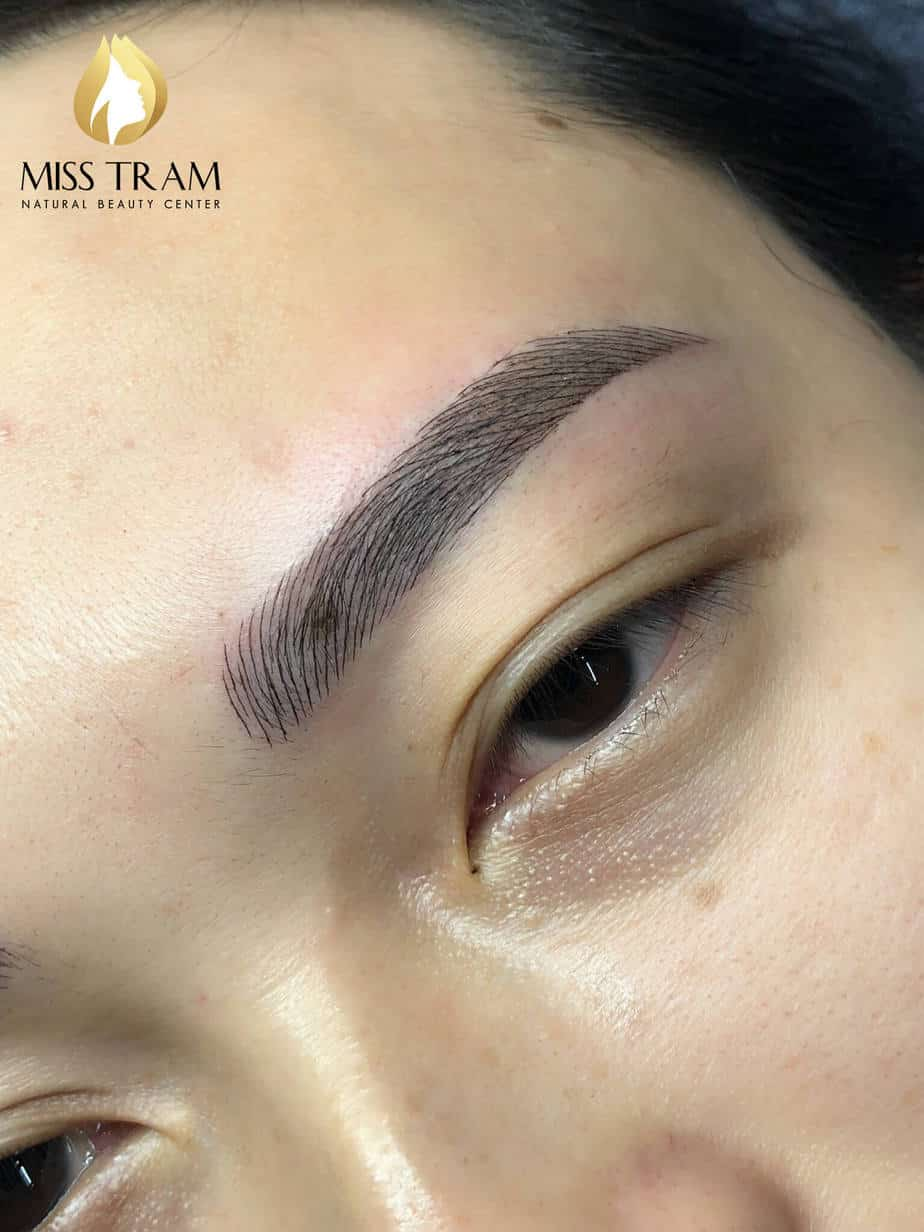 Before And After Handling And Sculpting Her Eyebrows Queen 6