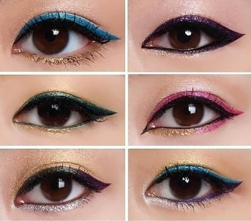 Beautiful eye makeup trend
