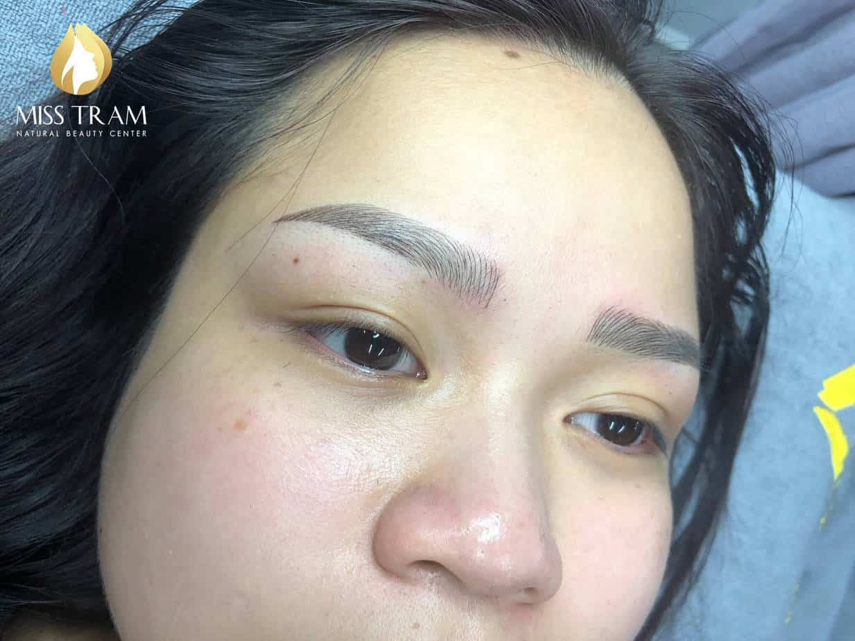 Before And After Sculpting Eyebrow Commemorating Natural Fiber 9D For Women 3