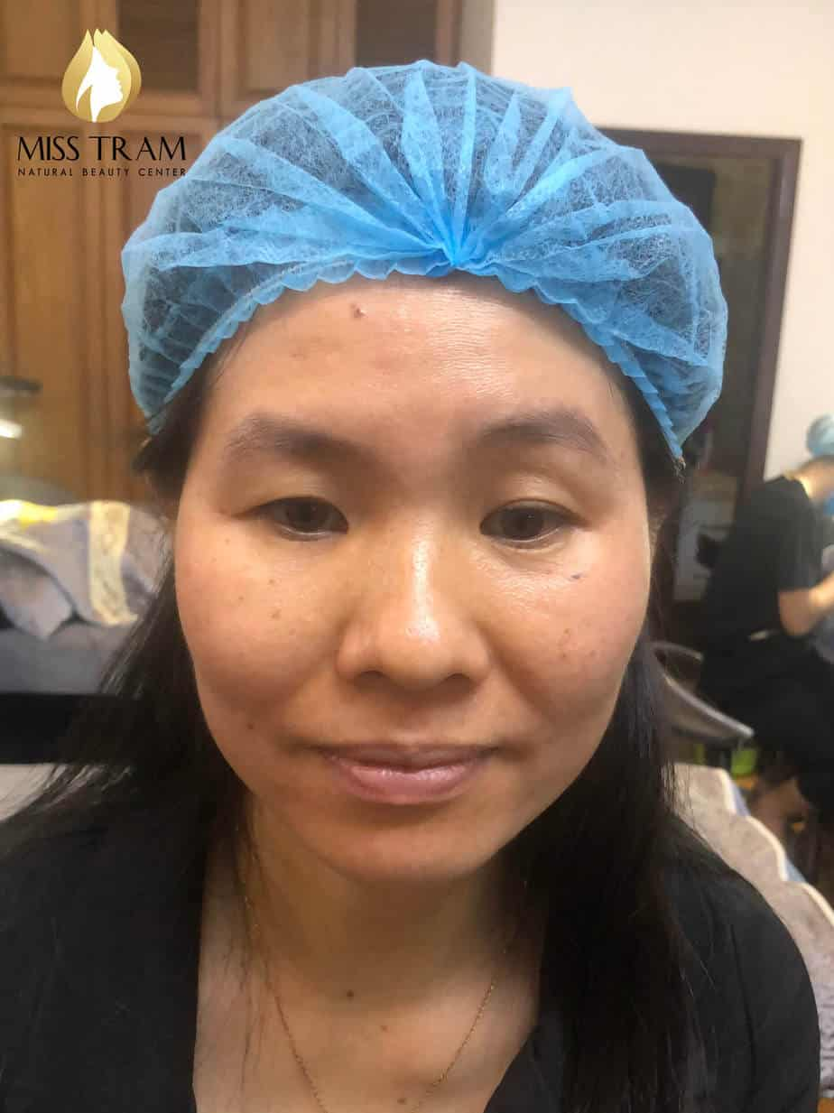 Before and After Sculpting Queen Eyebrow Scraping Natural Women's Socks 2