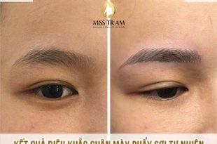 Before And After Sculpting Eyebrows With Beautiful Natural Fibers For Women 28