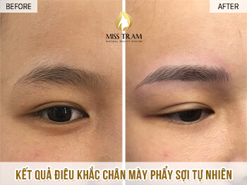 Before And After Sculpting Eyebrows Committing Beautiful Natural Fibers For Women 1