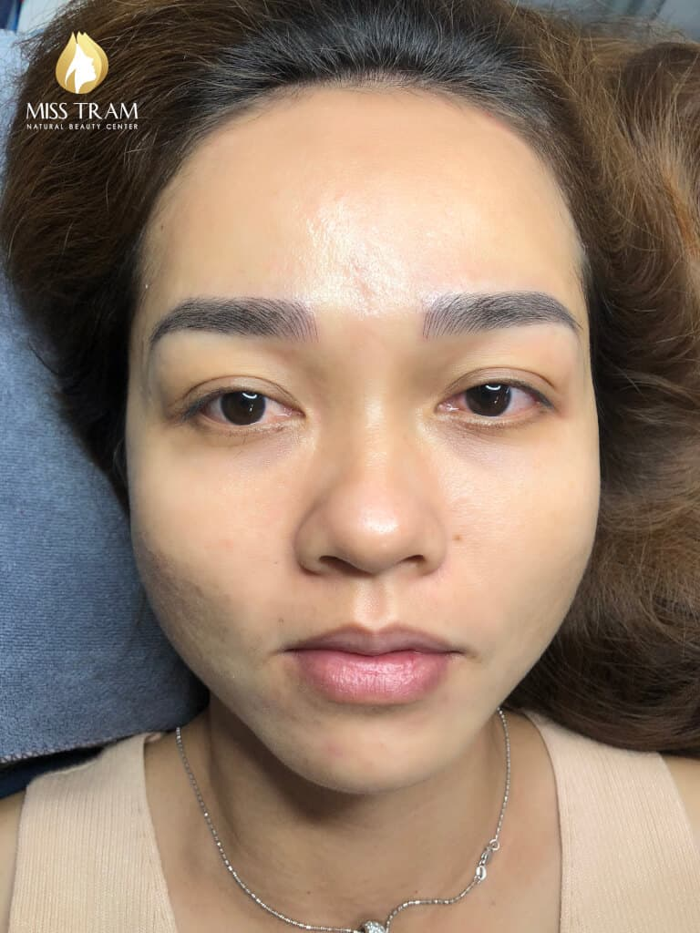 Before And After Sculpting Her Eyebrows Queen Stunning Beauty 6