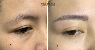Before and After Sculpture Natural Eyebrow Queen 56
