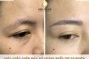 Before And After Sculpture Natural Eyebrow Queen 9
