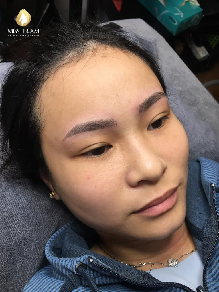 Before And After Sculpting Eyebrows With Beautiful Natural Fibers For Women 3