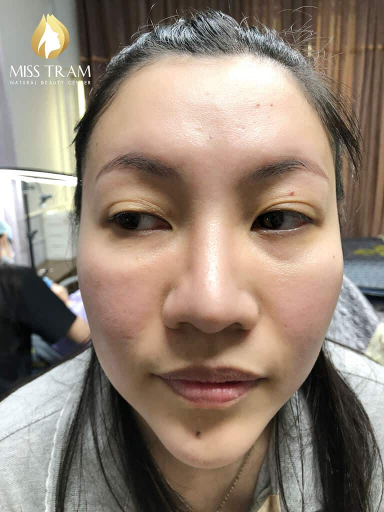 Before And After Remedy Your Old Eyebrow - Sculpting And Spraying Ombre Eyebrow 2