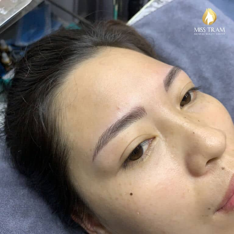 Before and After Sculpture Natural Eyebrow Queen 5