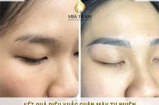 Before And After Sculpting Eyebrows With Beautiful Natural Fibers 13