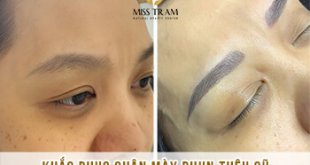 Before And After Remedy Eyebrow Spraying Old Embroidery Sculpting New Eyebrows 34