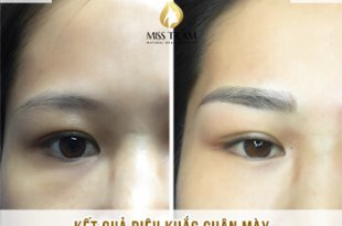 Before And After Shaping And Sculpting Natural Eyebrows 7