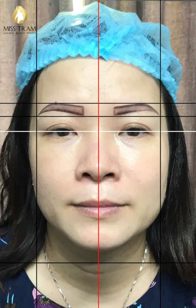 Before And After Repairing Old Eyebrows - Sculpting And Spraying Ombre Beautiful Eyebrows 3