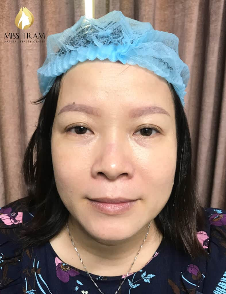 Before And After Remedy Your Old Eyebrow - Sculpting And Spraying Ombre Beautiful Eyebrows 2