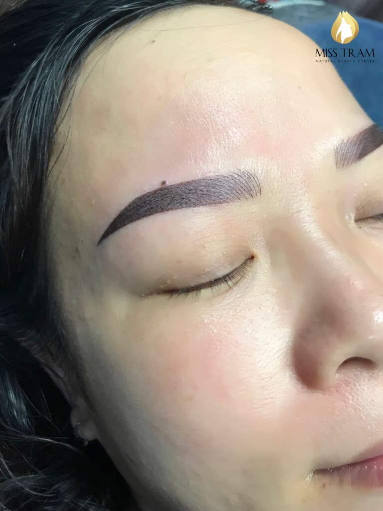 Before And After Remedy Your Old Eyebrow - Sculpting And Spraying Ombre Beautiful Eyebrows 5