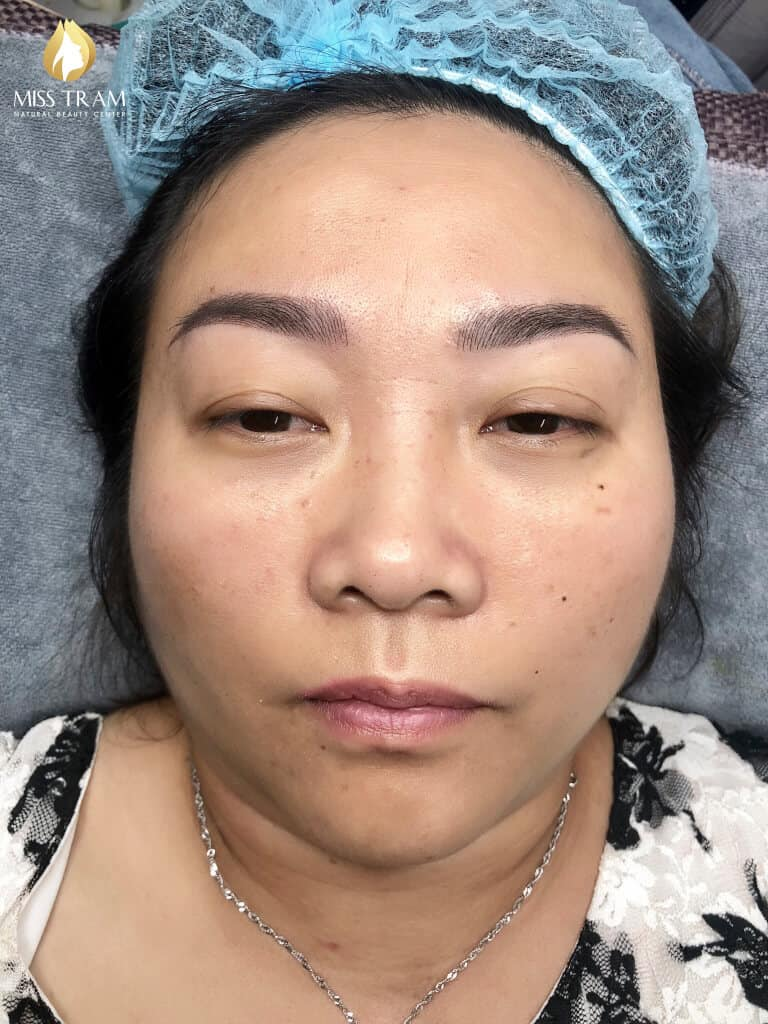 Before And After Treating Your Old Eyebrow - Sculpting Queen Brow For Female 5