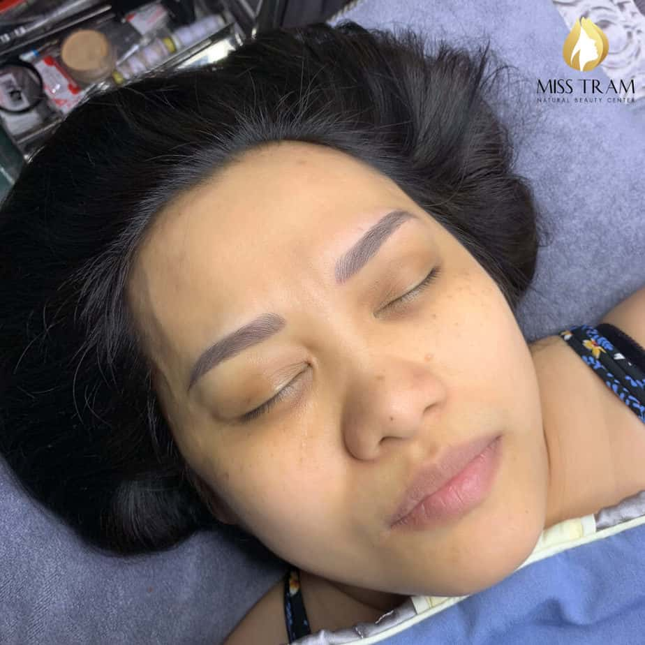 Before And After Remedy Eyebrow Spraying Old Embroidery Sculpting New Eyebrows 5