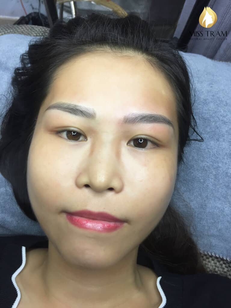 Before And After Shaping And Sculpting Natural Eyebrows 6