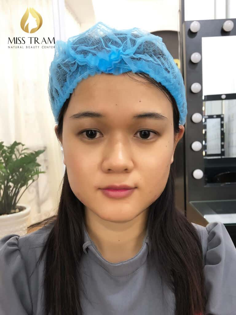Before And After Spraying Eyebrows Magic Shading Create Particles For Women 2