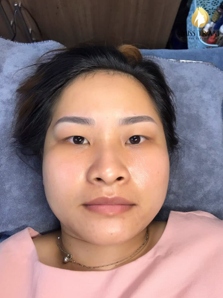 Before And After Repairing The Small Eyebrow With Sculpt 2