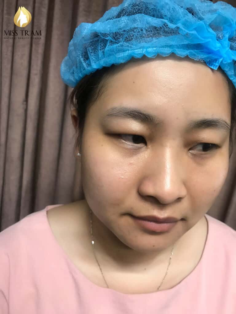Before And After Repairing The Small Eyebrow With Sculpt 4