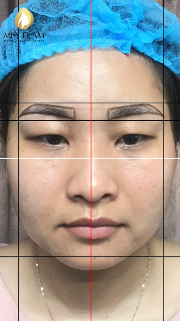 Before And After Repairing The Small Eyebrow With Sculpt 5