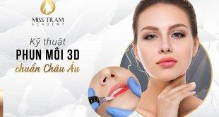 Chia Sẻ Kỹ Thuật Phun Môi 3D Chuẩn Châu Âu 20