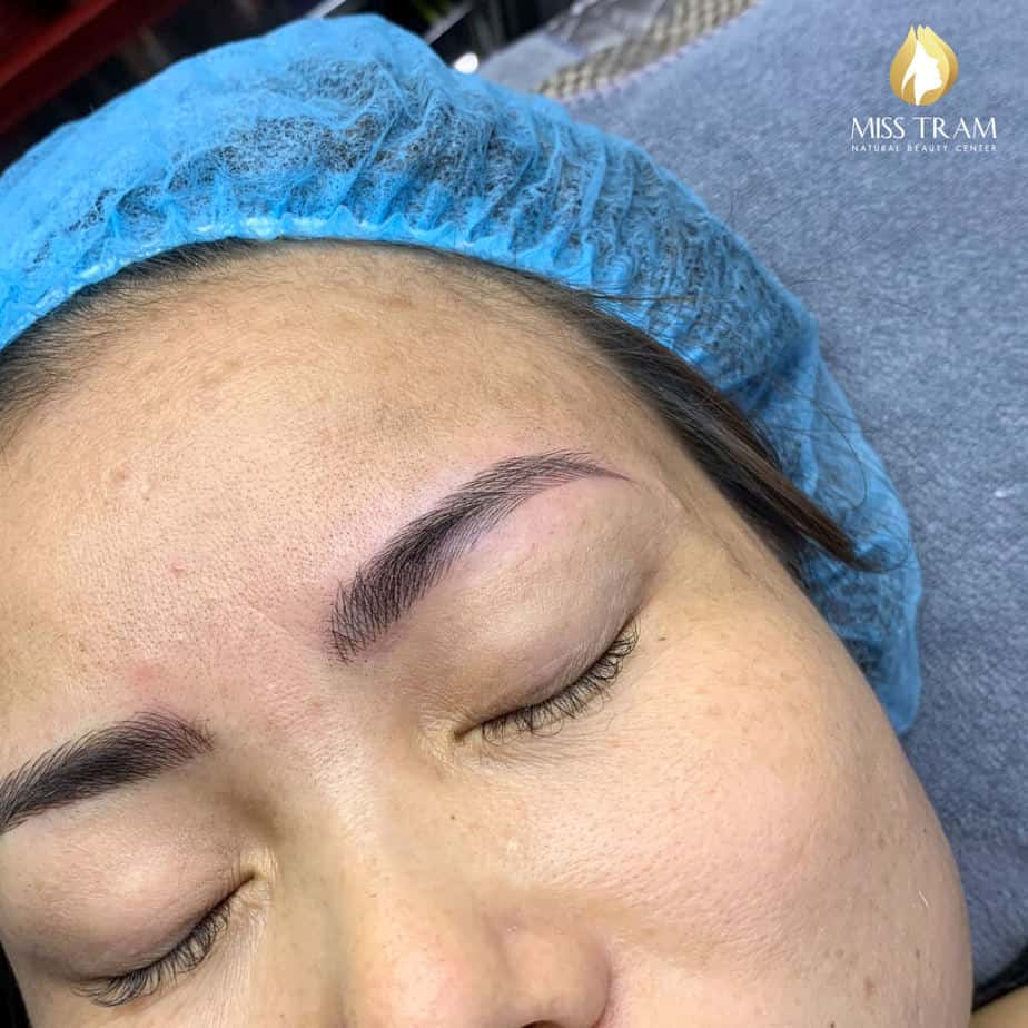 Before and After Sculpting Technology For Beautiful New Eyebrows 4