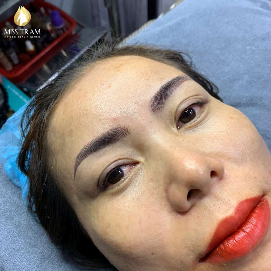 Before and After Sculpture Technology For Beautiful New Eyebrows 5