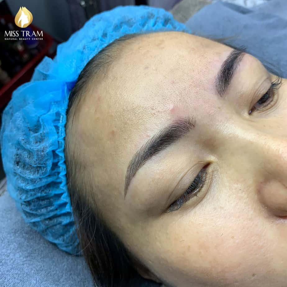 Before and After Sculpture Technology For Beautiful New Eyebrows 3