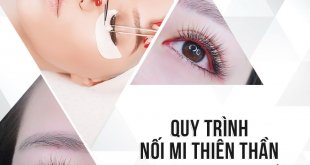 How to process the eyelid extensions at Miss Tram Natural Beauty Center 5