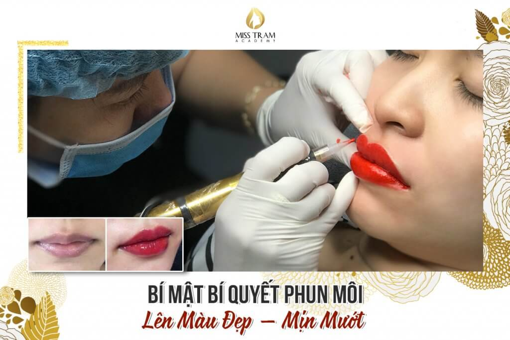 Knowledge Sharing: The Secret Of Spraying Lips On A Beautiful Color - Smooth 2