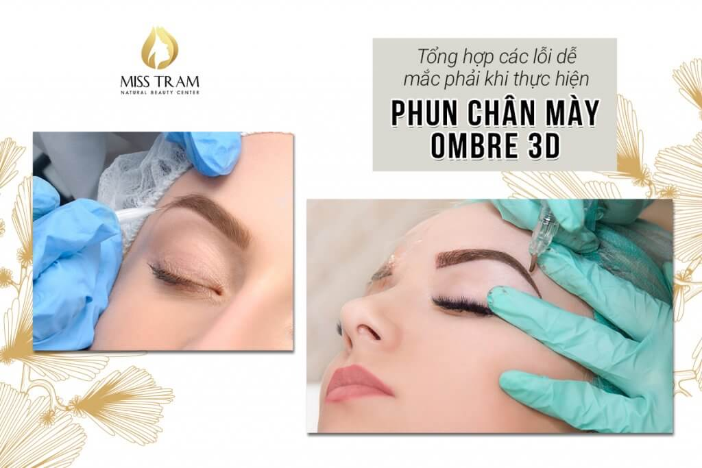 Be careful to avoid mistakes that are easily encountered in Ombre 3D Eyebrow Spray 2