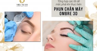 Take precautions to avoid mistakes that you may face while performing Ombre 3D Eyebrow Spray 31