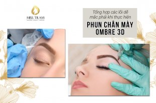 Be careful to avoid mistakes that are easily encountered when doing Ombre 3D Eyebrow Spray 17