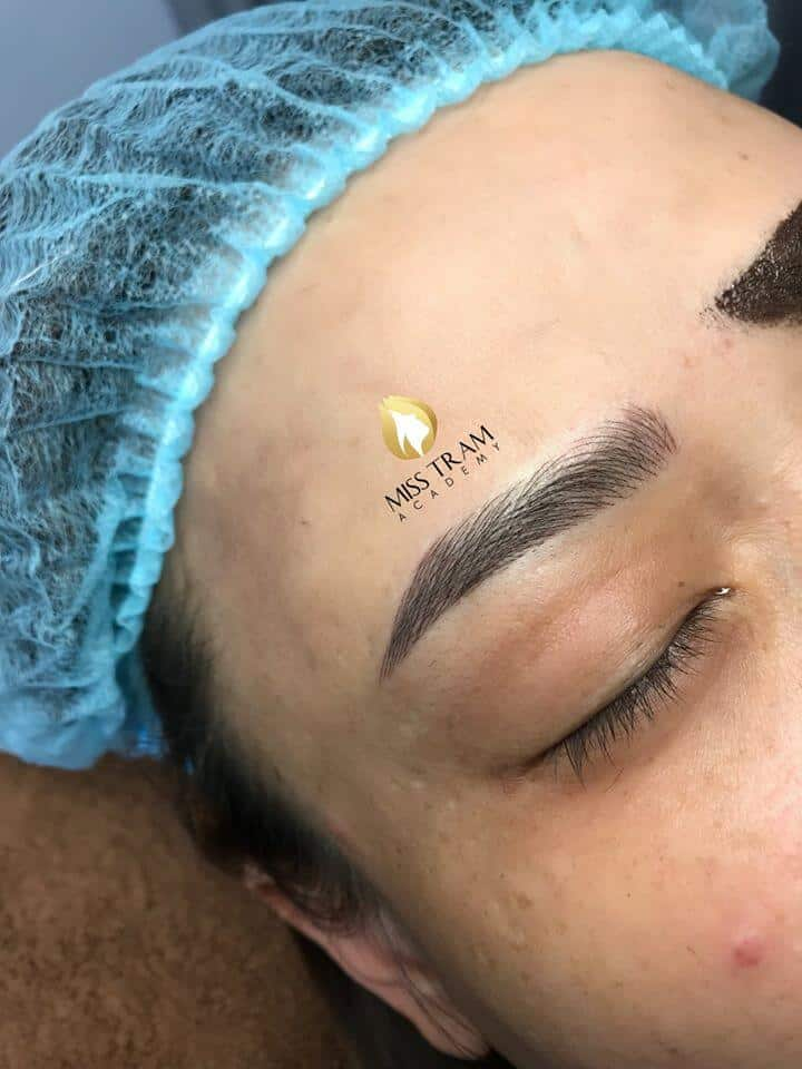 Actual Image Results of Eyebrow Sculpture by Students 5