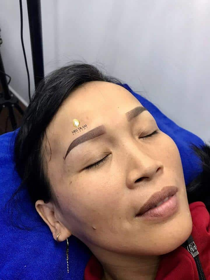 Result of Combing Eyebrow Powder With Ombre Combination Using Queen Ink 3