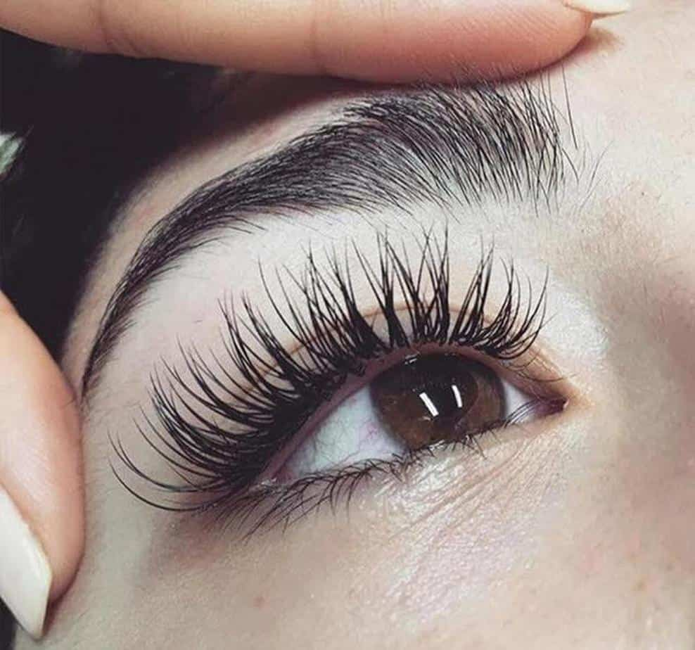 how to reduce the condition of fast eyelash extensions